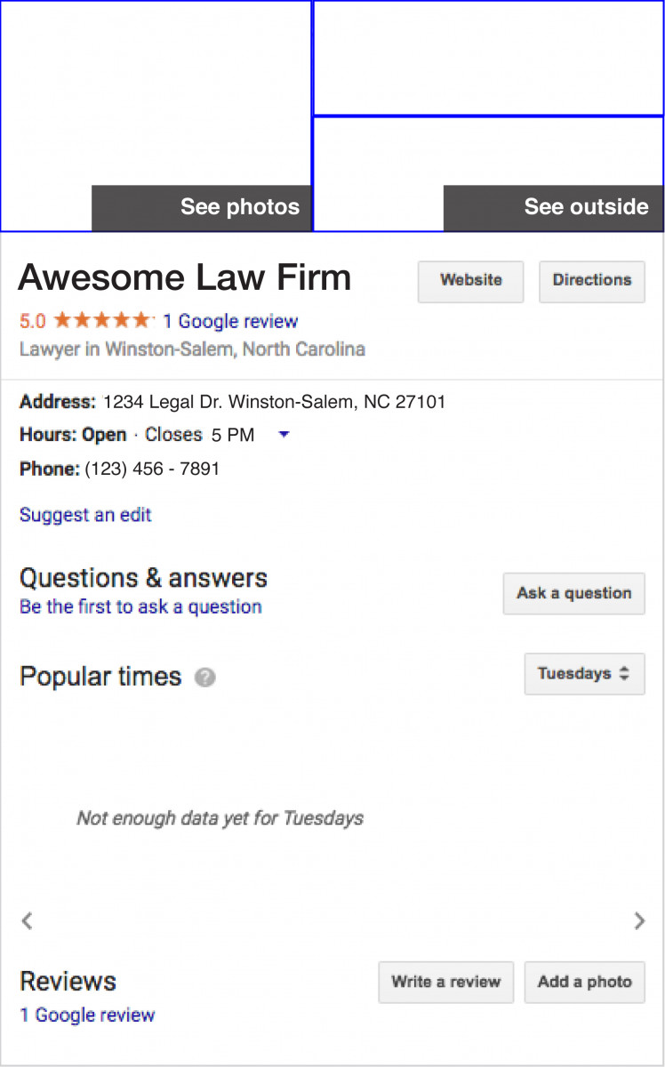 Legal address 24