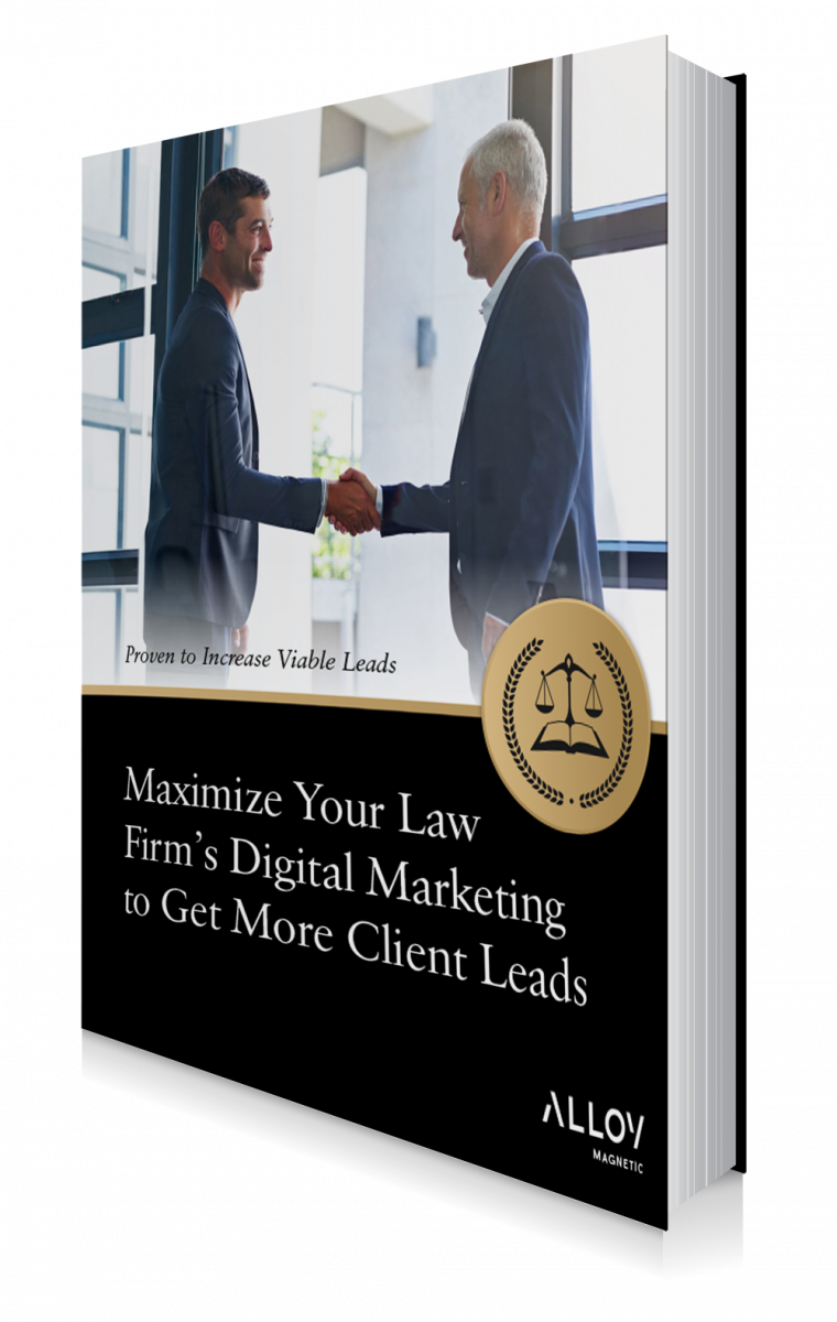 Maximize Law Firm Digital Marketing Ebook