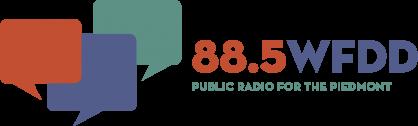 88.5 WFDD, public radio for the Piedmont logo