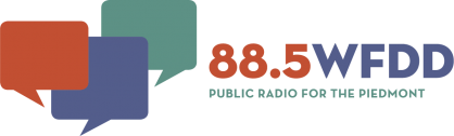 88.5 WFDD, public radio for the Piedmont logo