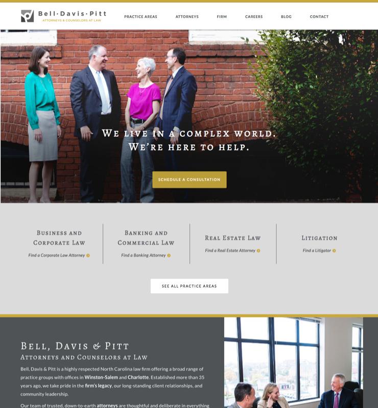 Bell, Davis & Pitt Screenshot